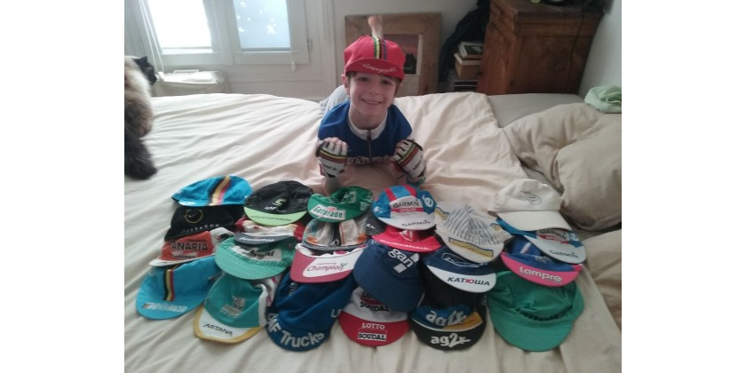 Collection de casquettes